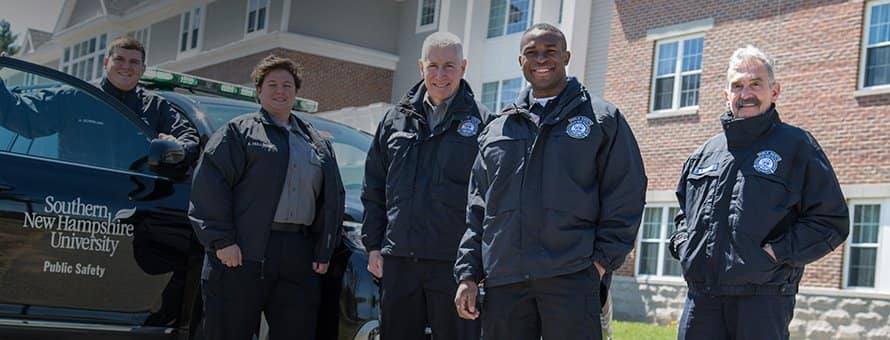 Team of SNHU Campus Safety officers