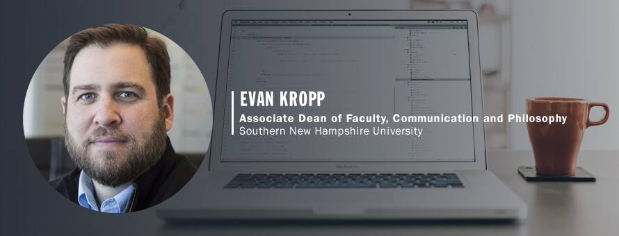 Evan Kropp, Associate Dean of Faculty, Communication and Philosophy