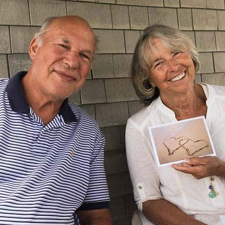 Jim Freiburger & Eleanor Dunfey-Freiburger