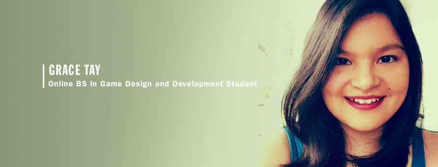 Grace Tay, Online BS in Game Design and Development Student