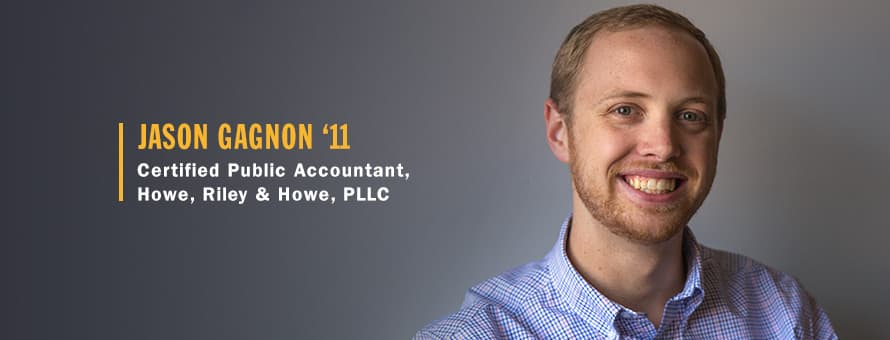 Jason Gagnon Certified Public Accountant at Howe, Riley & Howe, PLLC