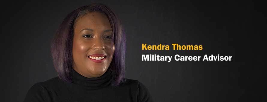 Military Spouse and SNHU employee Kendra Thomas.