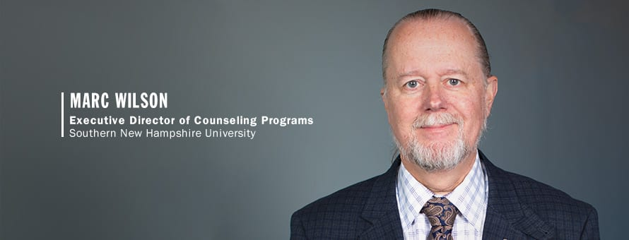 Marc Wilson, Executive Director of Counseling Programs SNHU COCE