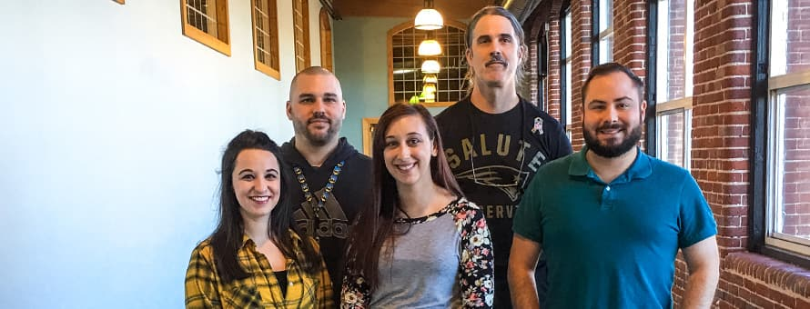 Group of five of SNHU's military advisors