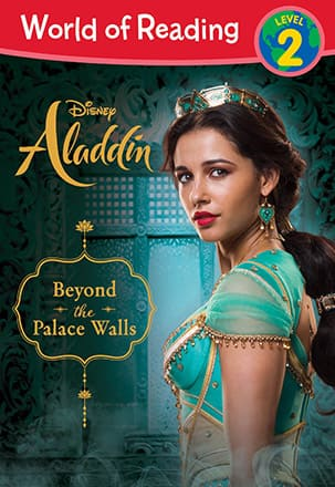 The cover of Disney's Aladdin: Beyond the Palace Walls.