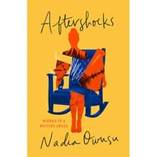 The cover of Nadia Owusu's book Aftershocks.