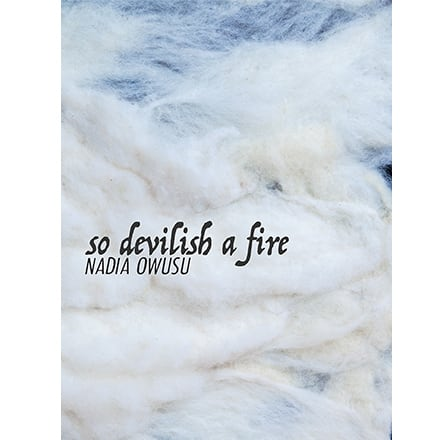 The cover of Nadia Owusu's book So Devilish a Fire.
