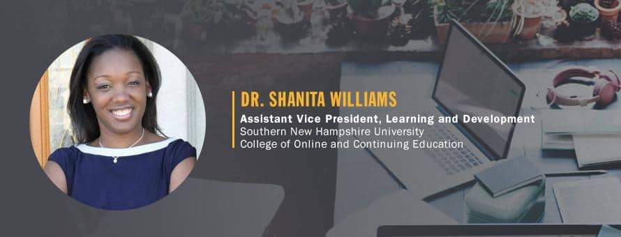 Photo of Dr. Shanita Williams, Assistant Vice President, Learning and Development​