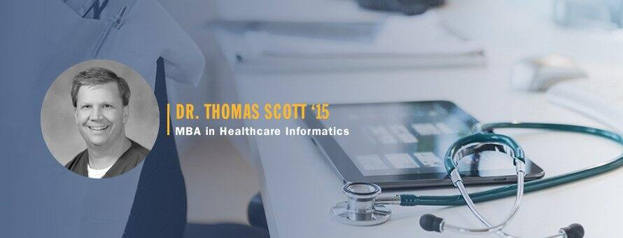 MBA for Physician Thomas Scott '15