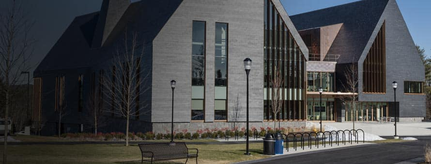 Exterior of the CETA building at SNHU campus