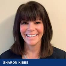 Sharon Kibbe and the text Sharon Kibbe