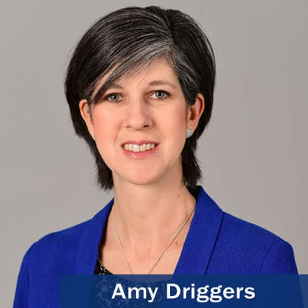 Amy Driggers and the text Amy Driggers.