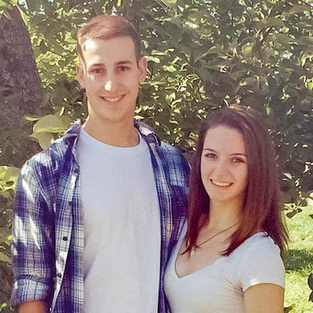 Michelle Hegenauer '18 & Anthony Angelesco '17