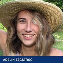 Adelin Zegstroo and the text 'Adelin Zegstroo'