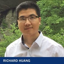 Richard Huang with the text Richard Huang