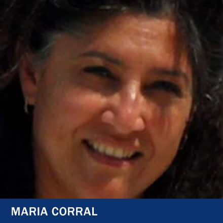 Maria Corral with the text Maria Corral
