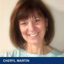 Cheryl Martin with the text Cheryl Martin
