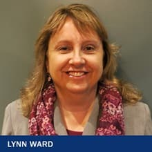 Lynn Ward with the text Lynn Ward