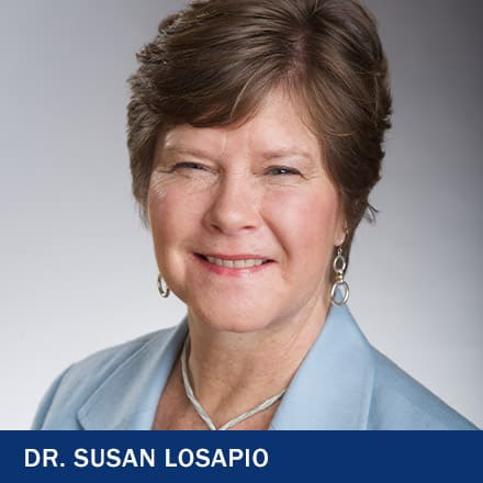 Dr. Susan Losapio with the text Dr. Susan Losapio