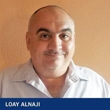 Loay Alnaji with text Loay Alnaji