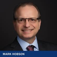 Dr. Mark Hobson and the text 'Mark Hobson'