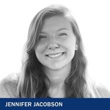 Jennifer Jacobson with text Jennifer Jacobson