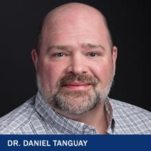 Dr. Daniel Tanguay with the text Dr. Daniel Tanguay