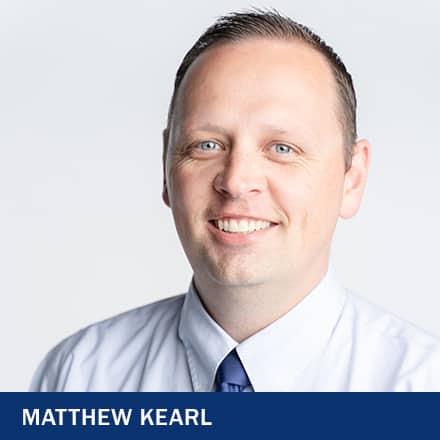 Matthew Kearl with the text Matthew Kearl