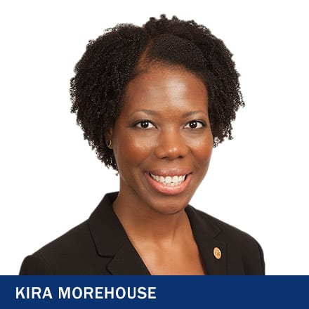 Kira Morehouse and the text 'Kira Morehouse'
