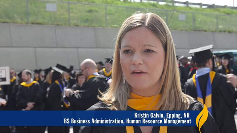 Human Resource Management Program Graduation Alumni Testimonial