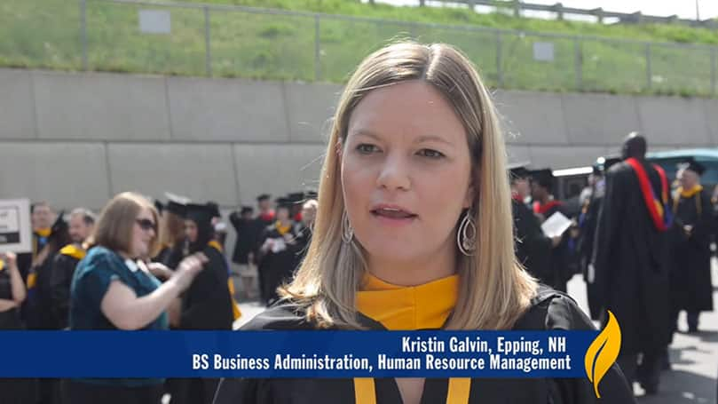 Student Success Story with Alumni Kristin Galvin