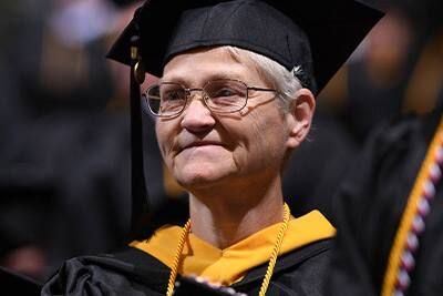 SNHU Graduate at the 2019 Commencement Ceremony