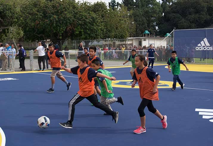 MLS Community Mini Pitch LA Galaxy 04