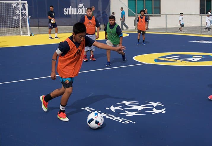 MLS Community Mini Pitch LA Galaxy 05