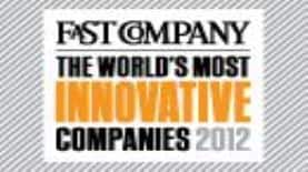 Fast Company Most Innovative Company 2012 Logo