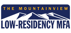 The Mountainview low-residency MFA logo