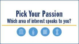 Pick Your Passion Infographic