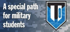 WT3 Partnership: A special path for military students