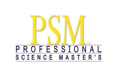 PSM Professional Science Master's Logo