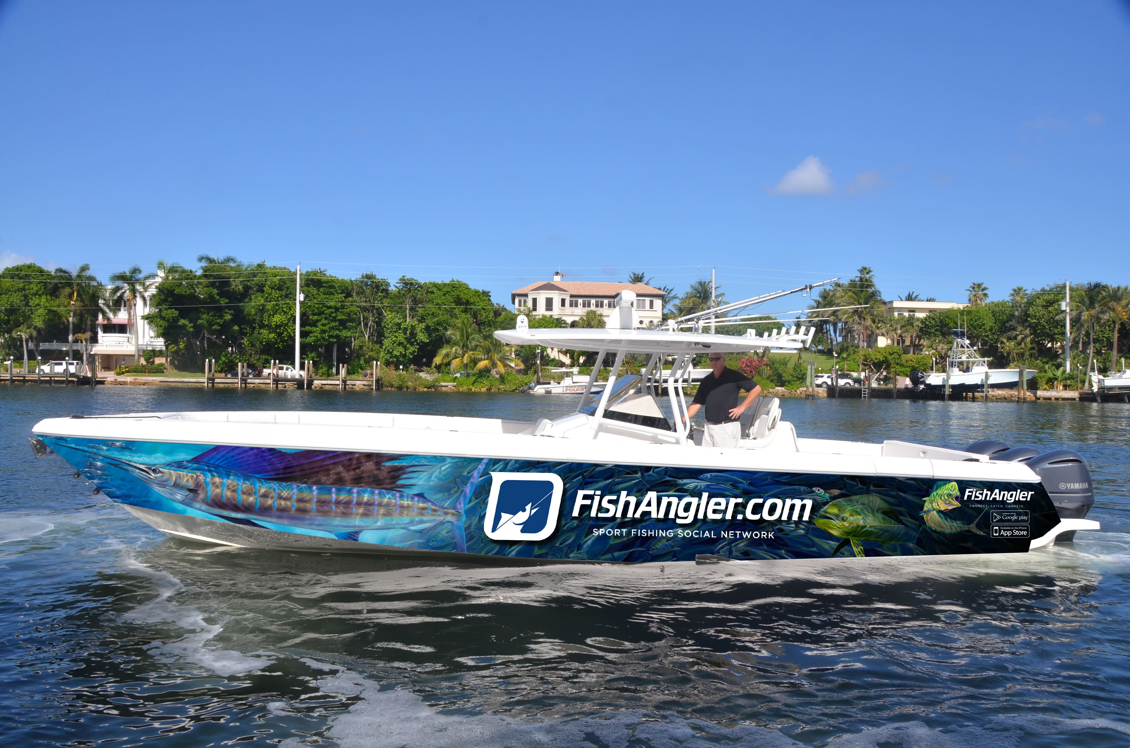 Anglers Tale Boat Wrap