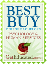 Best Buy Online Bachelors, Psychology and Human Services, Get Educated.com.