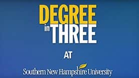 Degree in Three at SNHU