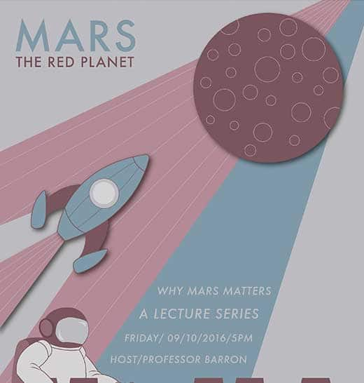 Graphic Design Student Work Mars