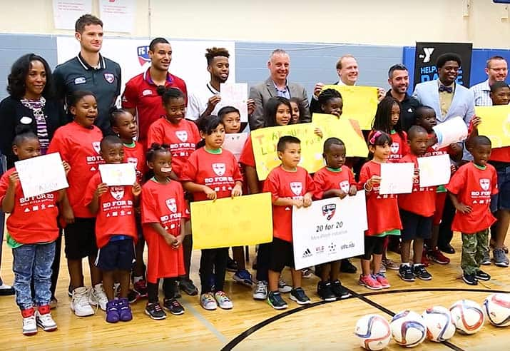 MLS FC Dallas community event