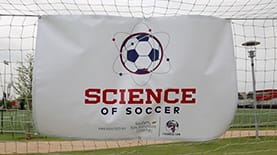 "SNHU and FC Dallas of Major League Soccer teamed up to host a ""Science of Soccer"" clinic in Frisco, Texas"