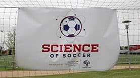 "SNHU and FC Dallas of Major League Soccer teamed up to host a ""Science of Soccer"" clinic in Frisco, Texas."