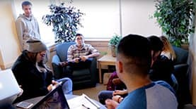 SNHU Advantage Program students studying together