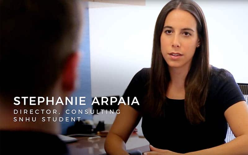Stephanie Arpaia: Networking with Alumni