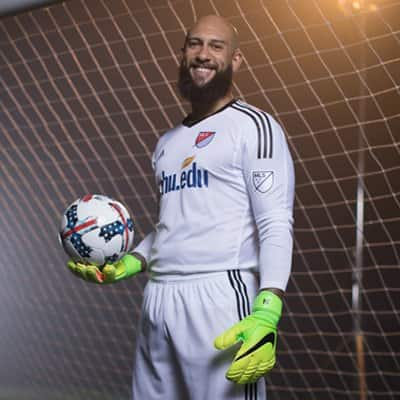 MLS star Tim Howard