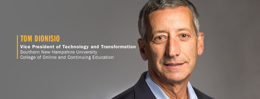 Tom Dionisio '76 Vice President of Technology and Transformation